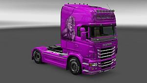 Scania RJL Marilyn Monroe skin