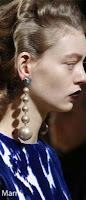 pearl earing Marni, Gucci