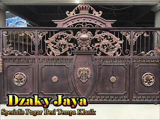 Model Pagar tempa, pagar klasik Jakarta