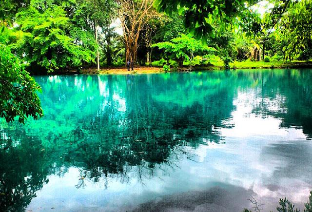 Gambar Danau Linting Sumatera Utara