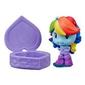 My Little Pony Blind Bags, Confetti Rainbow Dash Equestria Girls Cutie Mark Crew Figure