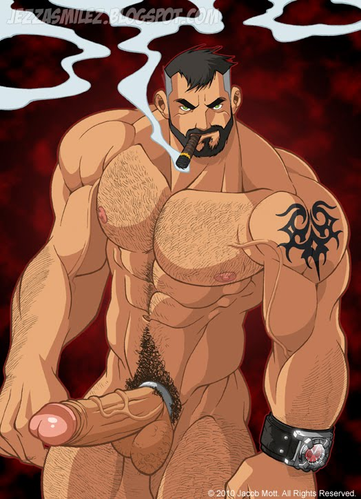 Gay comic muscle