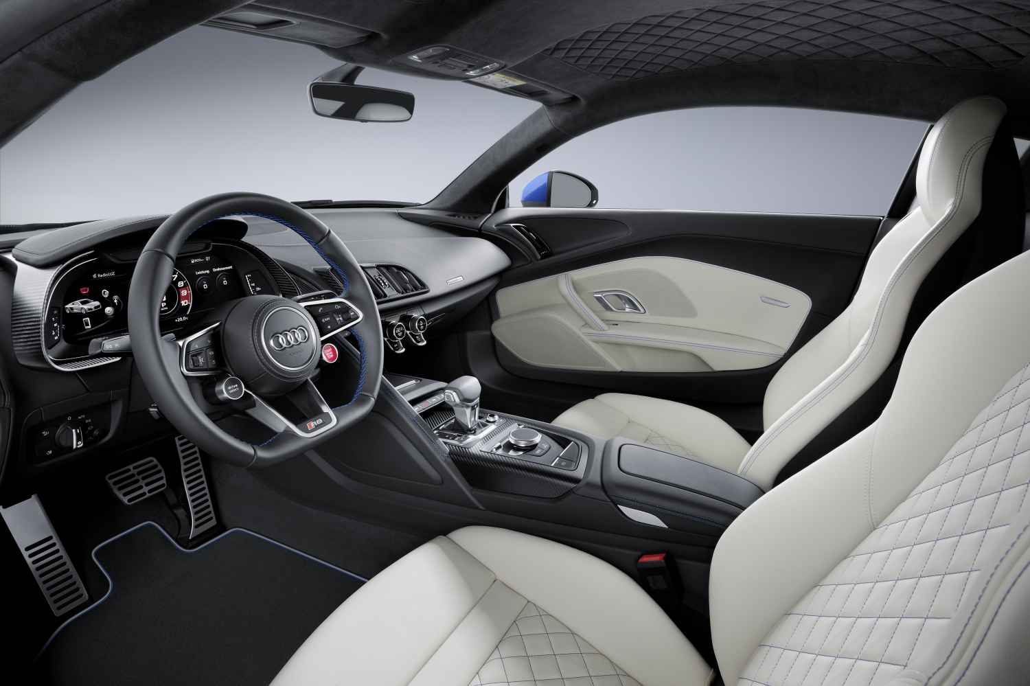 Attractive Interior Of The Audi R8