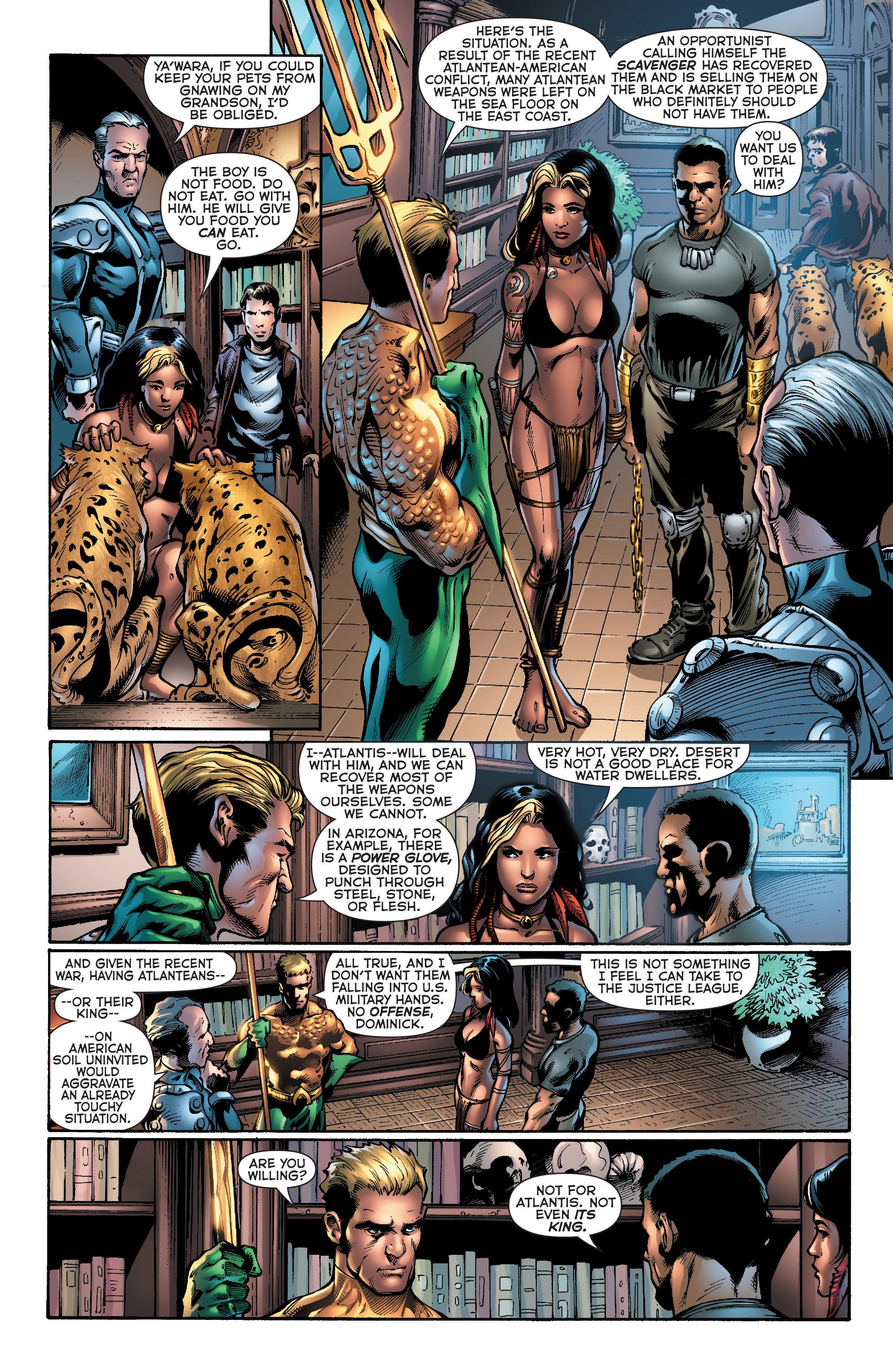 Read online Aquaman (2011) comic -  Issue #20 - 6
