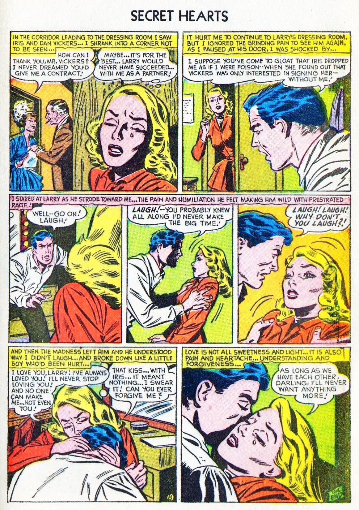 Read online Secret Hearts comic -  Issue #15 - 33