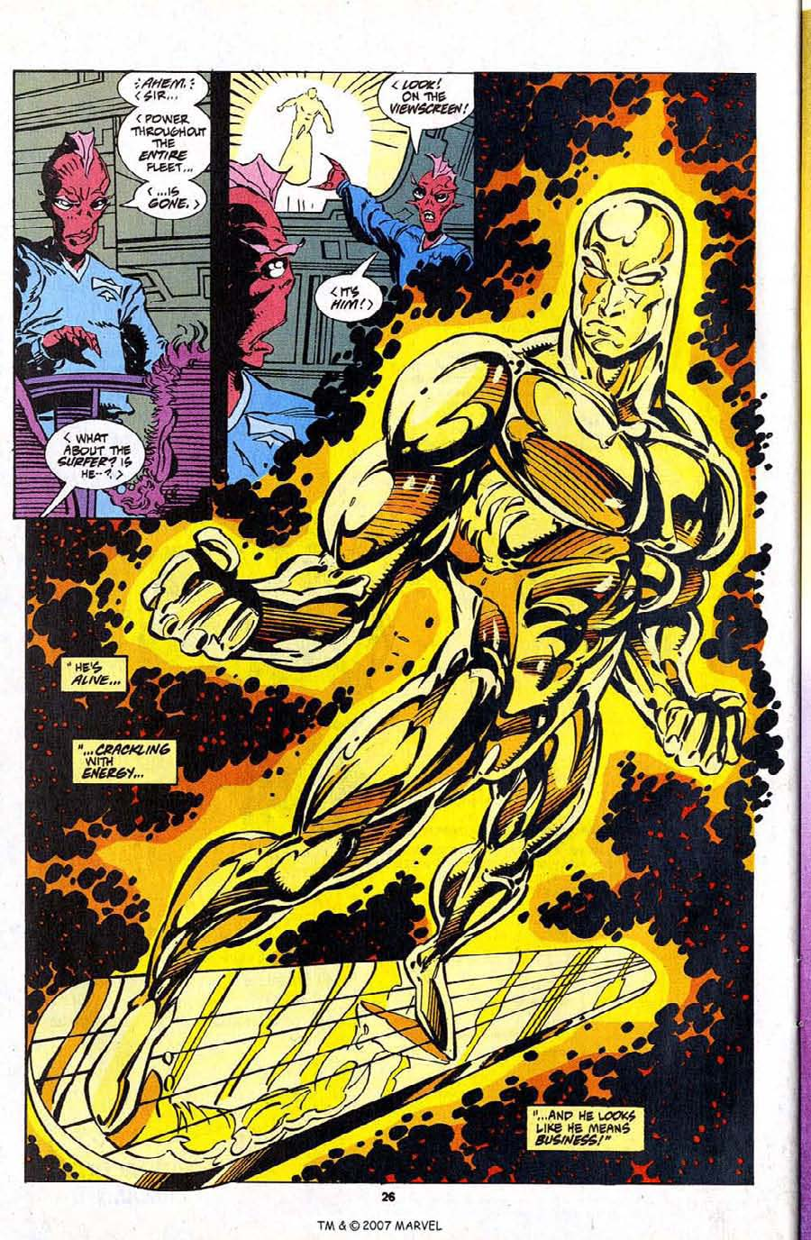 Silver Surfer (1987) Issue #103 #111 - English 28