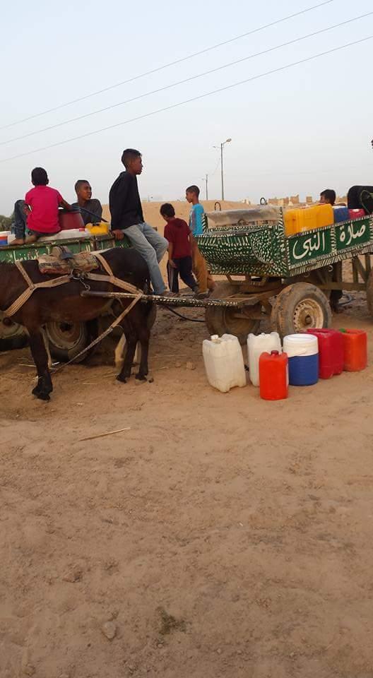قرى نجع حمادي تشرب مياة غير صالحة للإستخدام الادمي