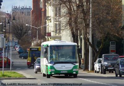 SOR BN12 #1079 na ul. Stefana Batorego w Raciborzu