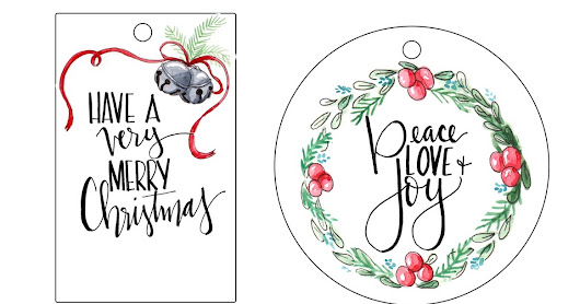 Holiday Gift Tags FREE PRINTABLE!