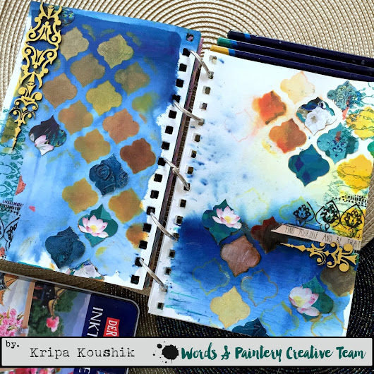 Art Journal - Intuitive painting