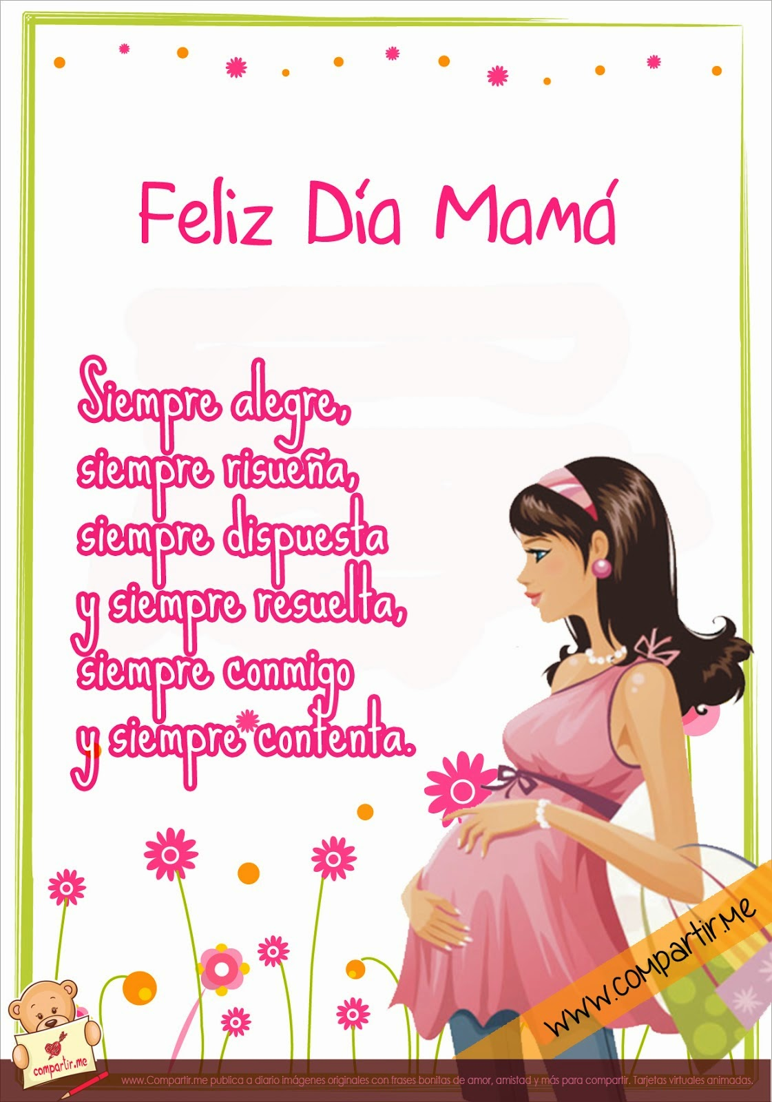 descargar imagenes para el dia de la madre - tarjetas con mensajes alusivos a la madre