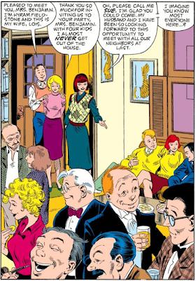 Fantastic Four #276 panel