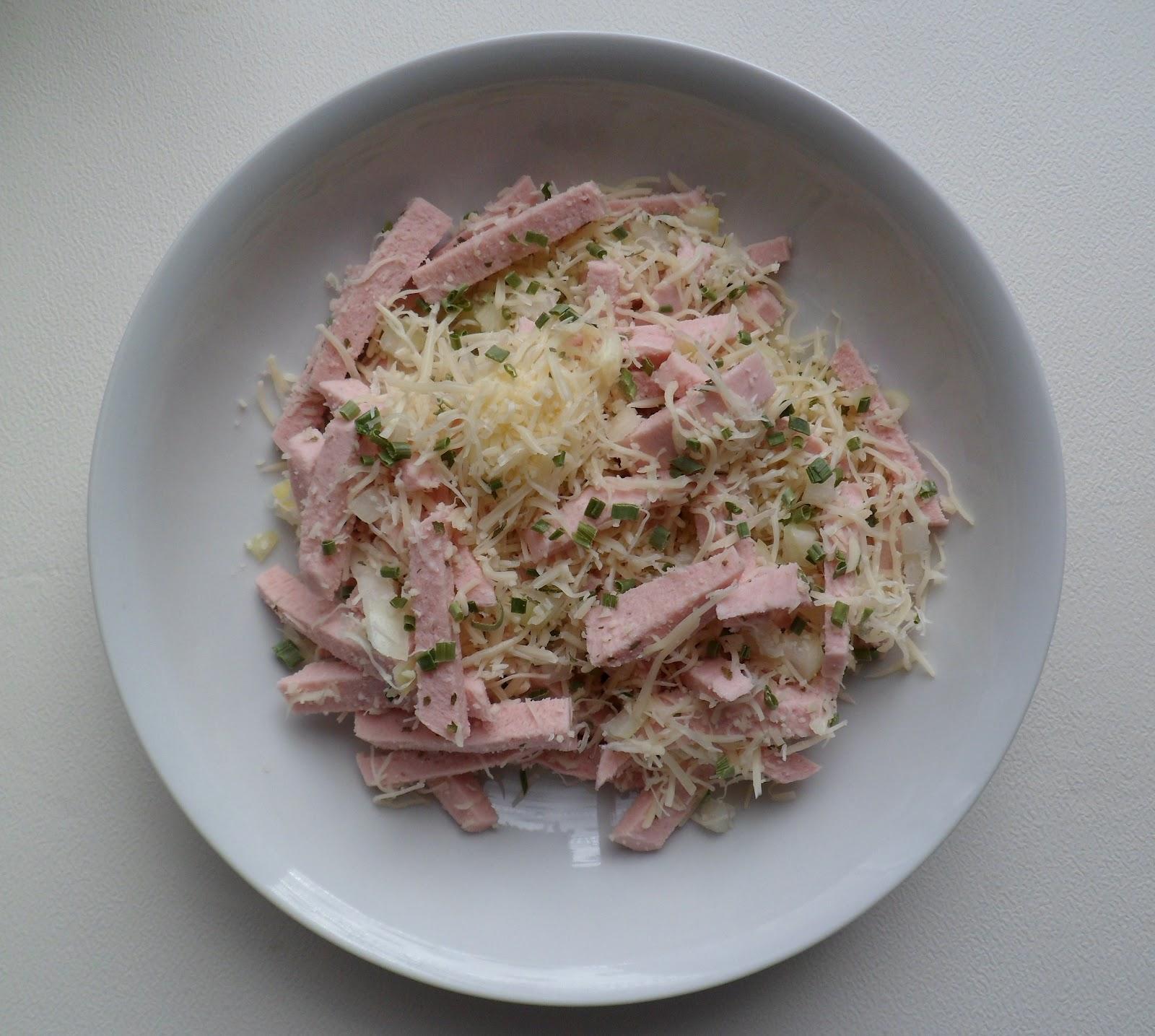 les crocs du loupinet wurstsalat salade alsacienne de saucisse de viande. Black Bedroom Furniture Sets. Home Design Ideas