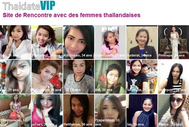rencontres thaïlandaises