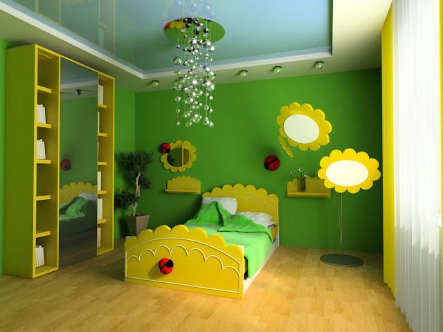 Sàn gỗ công nghiệp cho phòng ngủ trẻ em cao cấp