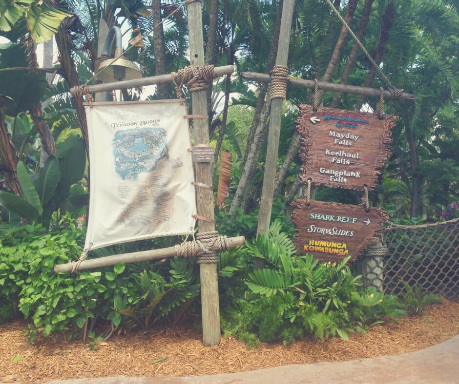 Top 7 Things You Should Do At Typhoon Lagoon, Walt Disney World | Find the maps around the park.
