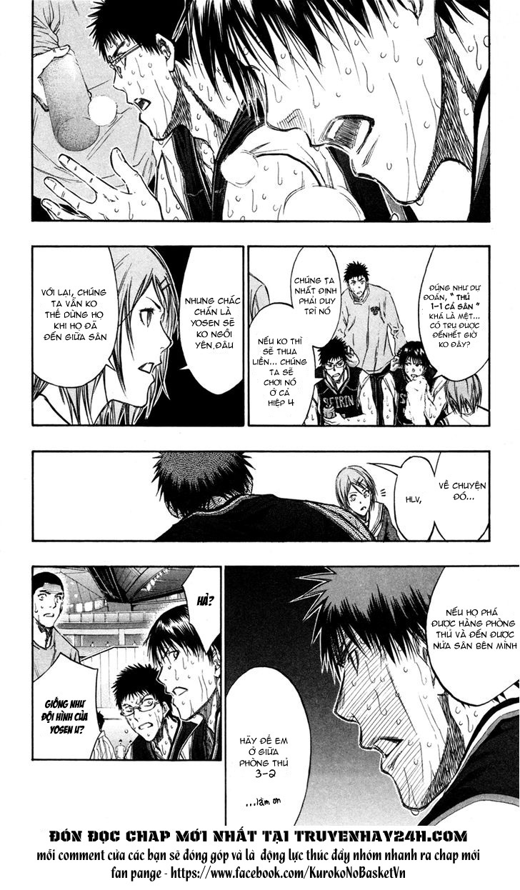Kuroko No Basket chap 160 trang 9