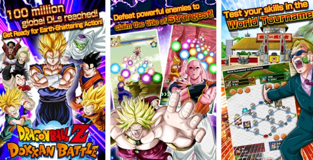 Dragon Ball Z Dokkan Battle MOD Full Unlocked v2.15.2 Apk Android Terbaru