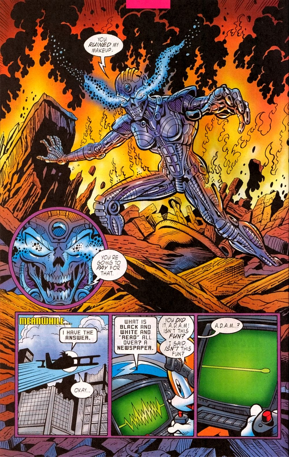 Read online Sonic The Hedgehog comic -  Issue #133 - 16