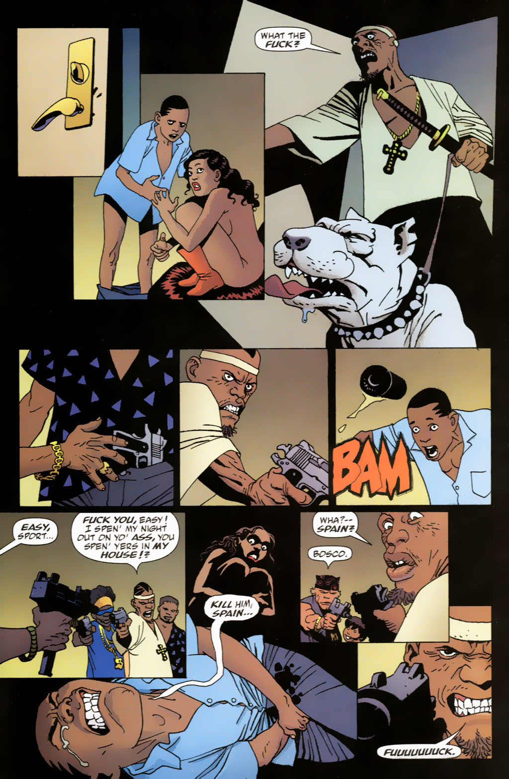 Read online 100 Bullets comic -  Issue #63 - 17