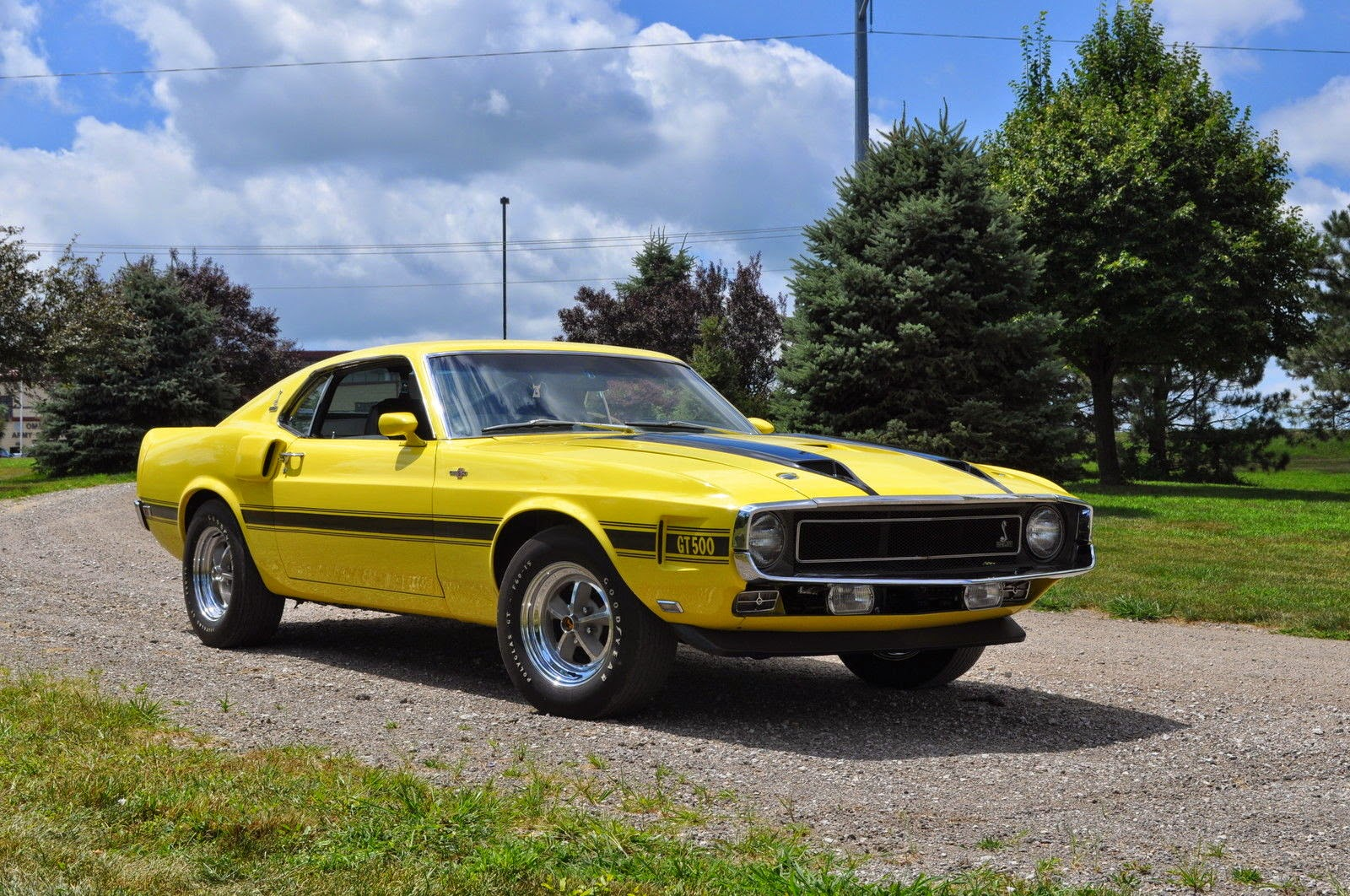 All American Classic Cars: 1970 Shelby GT500 2-Door Fastback