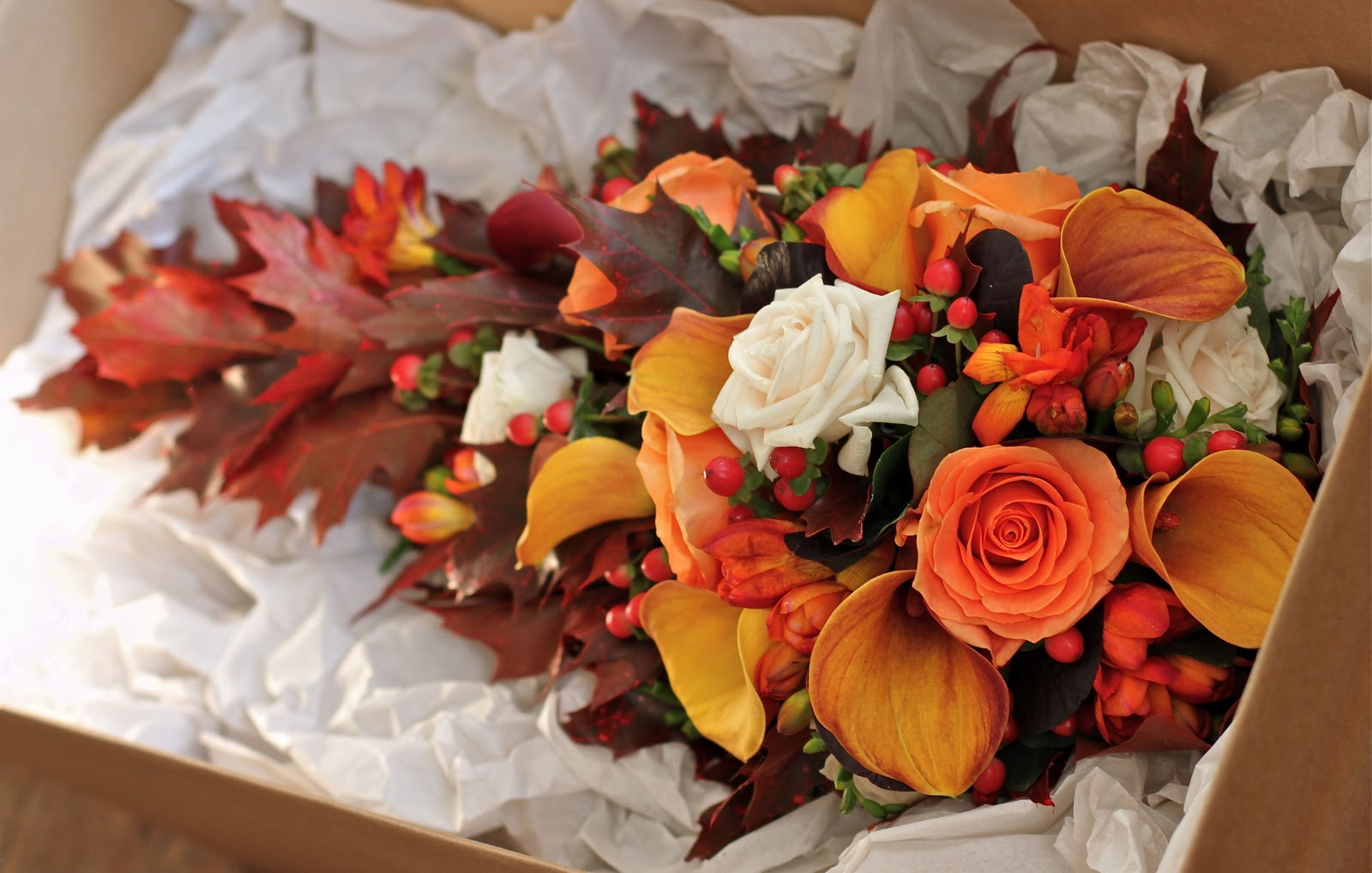 Wedding Flowers Blog: Alison's Autumn Wedding Flowers