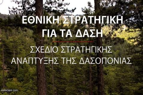 Ανοίγει ο διάλογος για την κατάρτιση της Εθνικής Στρατηγικής για τα Δάση