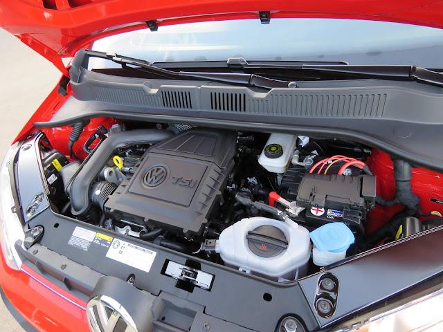 Novo VW Up! 2018 - motor