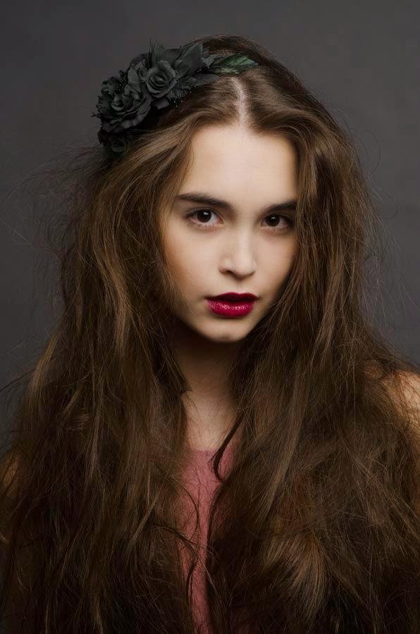 V.G.model management: Diana Slabunova. Test. By Vlad