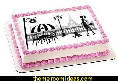 Paris party decorations - Paris themed party supplies - Party in Paris Birthday Party Decorations  -  Pink Paris Party -  Paris party balloons - Eiffel Tower Favor Boxes -  French-themed celebration  - Pink Poodle Paris Theme Birthday Party
