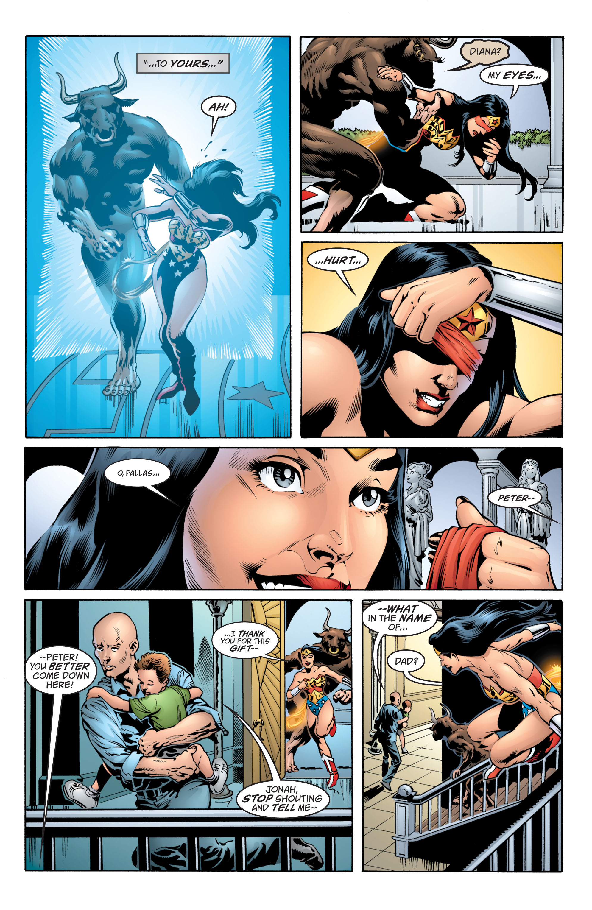 Read online Wonder Woman (1987) comic -  Issue #217 - 21