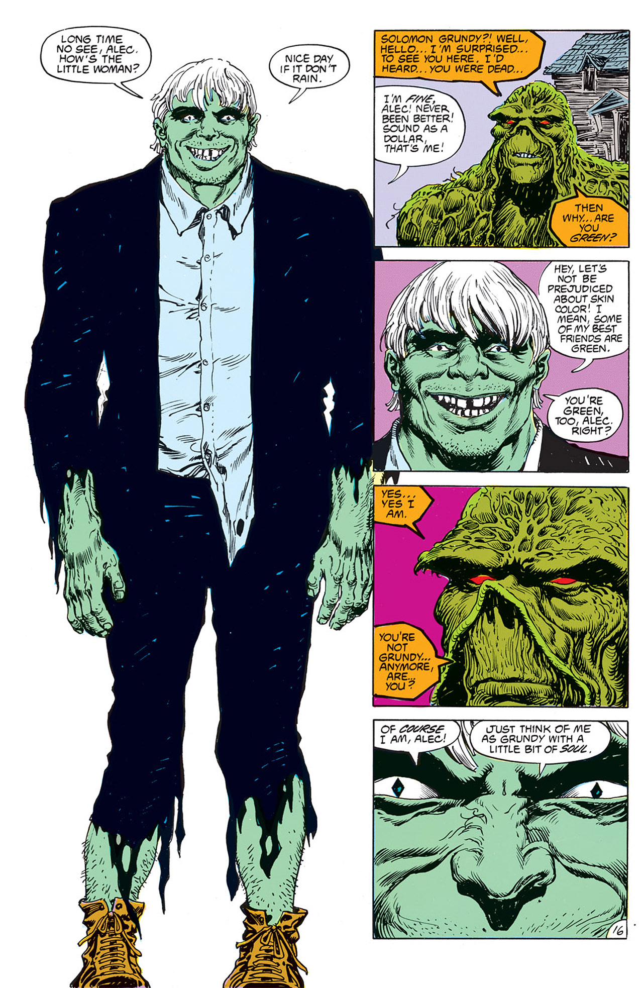 Swamp Thing (1982) Issue #67 #75 - English 18