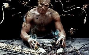 Étapes de l'Évolution, de l'Homme au Cyborg