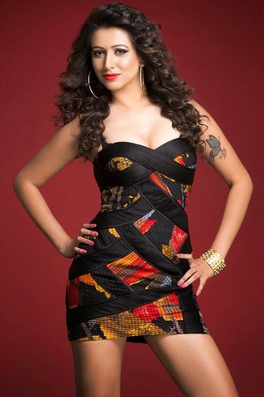 Tanya New Hot Telugu Celebrity Images Gallery Shiner Photos