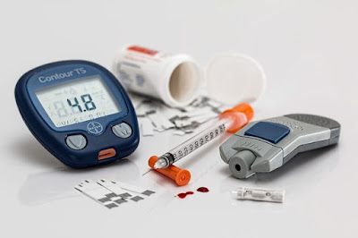 Diabetes Supplies: Monitor, Sticks, Insulin