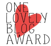 Blogging, Awards, One Lovely Blog