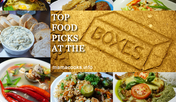 The Boxes - Bacolod restaurants