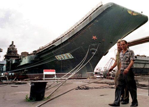 Saat masih bernama Admiral Kuznetsov