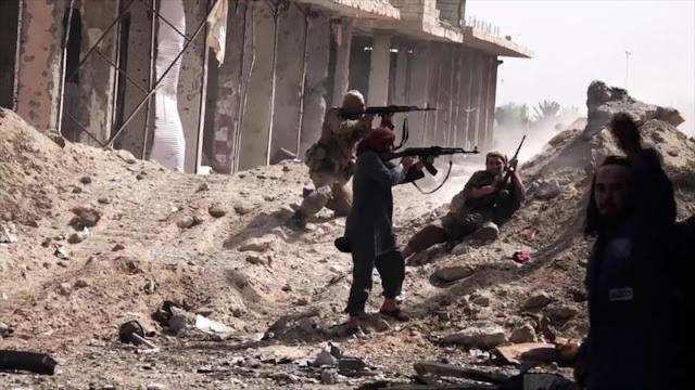 Siria: Con el apoyo de Israel, terroristas atacan campos palestinos