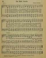 """The Bible Stands"" hymn"