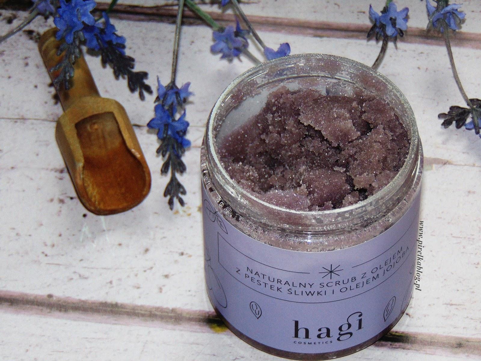 Hagi, Naturalny scrub do ciała z olejem z pestek śliwki