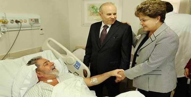 Lula passa mal e é levado para hospital Sírio Libanês