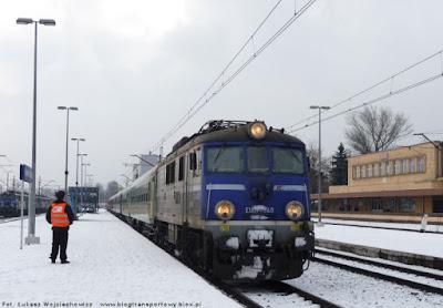 EU07-540 na stacji Kraków Płaszów