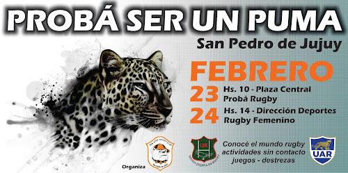 Probá ser un Puma en San Pedro de Jujuy