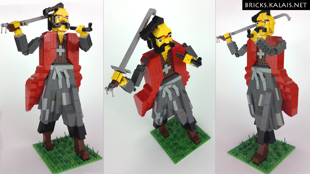 [MOC] Crooked-nose -  Cossack leader of Khmelnytsky