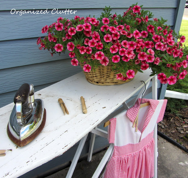 Ironing Board Plant Stand