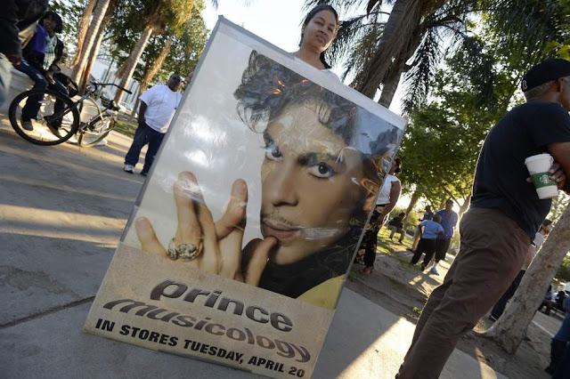 Seguidores de Prince en Los Ángeles