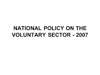 National Policy on Voluntary Organisations