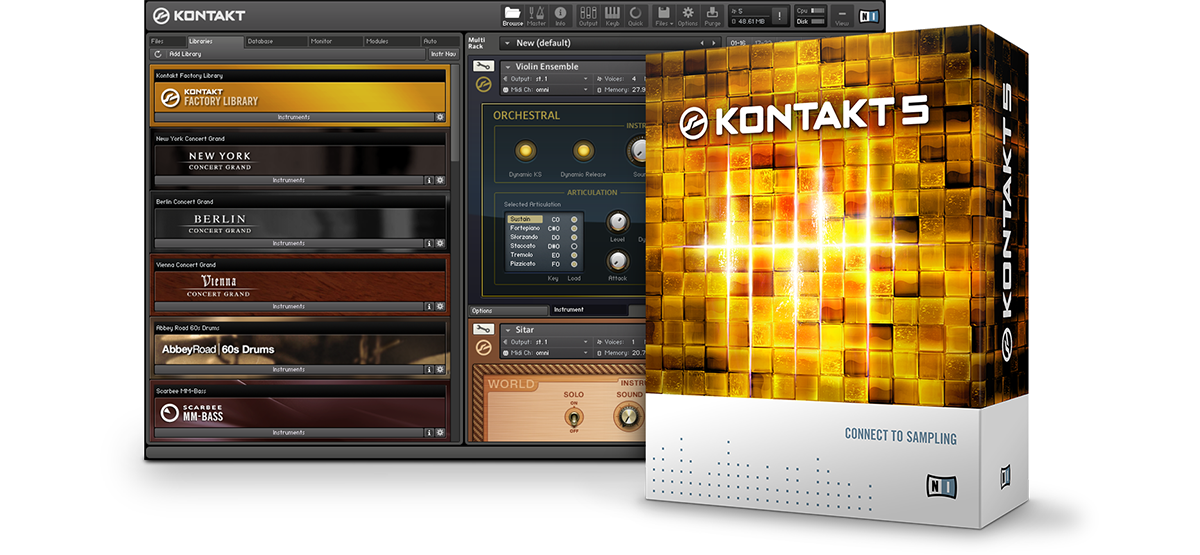 Kontakt portable gratuito 32 MB Windows 7/8/10