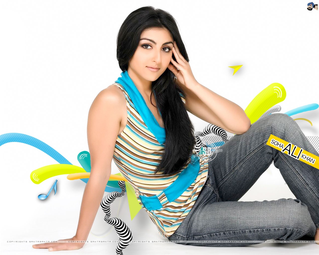 Soha Ali Khan HD Wallpaper